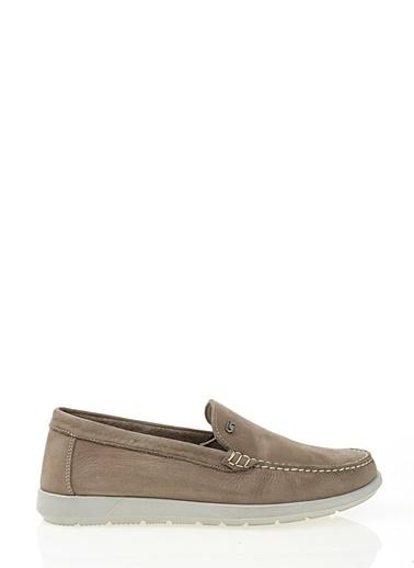 Nubuk Deri Ayakkabı-Greyder